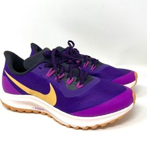 Nike Air Zoom Pegasus 36 Trail Run Purple Women's
